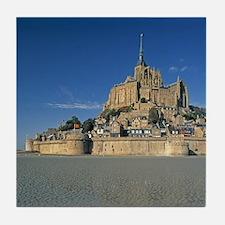 Mont St Michel, Manche, Normandy, Fra Tile Coaster