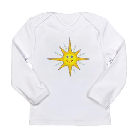 Smiling Sun Long Sleeve T-Shirt