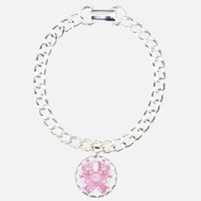 PinkRibLoveSwirlTRs Bracelet