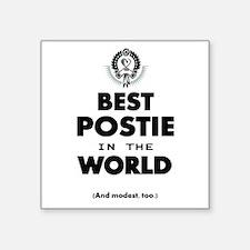 The Best in the World – Postie Sticker