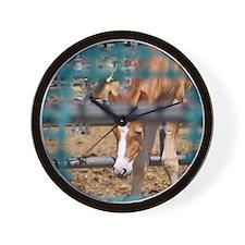 Cal_Oct Wall Clock
