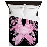 Breast cancer Queen Duvet Covers