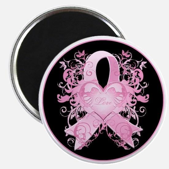 PinkRibLoveSwirlRbTR Magnet