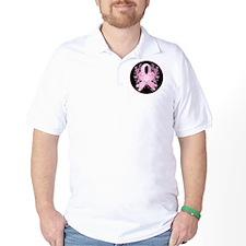 PinkRibLoveSwirlRbTR T-Shirt