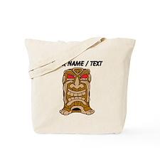 Custom Tiki Statue Tote Bag