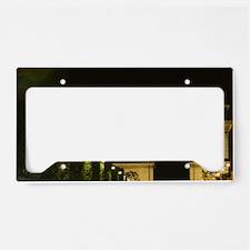France, Paris, Arc de Triomph License Plate Holder