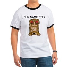 Custom Tiki Statue T-Shirt