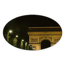 France, Paris, Arc de Triomphe at n Decal