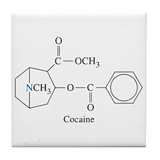 Cocaine Tile Coaster