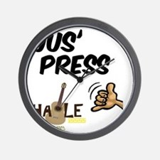jus_press_cafe_10x10 Wall Clock