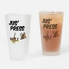 jus_press_cafe_10x10 Drinking Glass