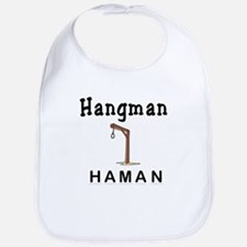 Hangman Haman Bib