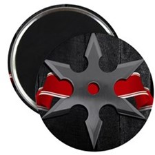 ninja star box Magnet