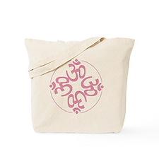om light pink Tote Bag