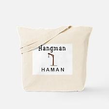 Hangman Haman Tote Bag