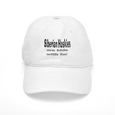 Siberian Huskies Baseball Baseball Cap