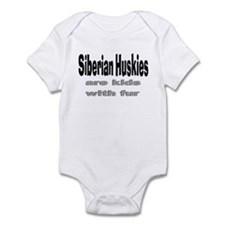Siberian Huskies Infant Bodysuit