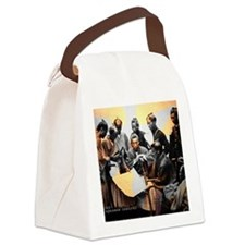 samurai1868boshinwar2 Canvas Lunch Bag