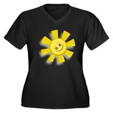 Smiling Sun Plus Size T-Shirt