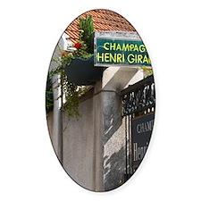 Champagne house Maison Giraud-Hemar Decal