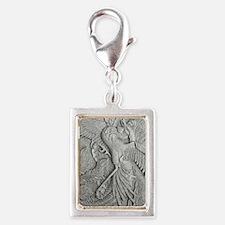 phoenixkindlesleeve Silver Portrait Charm