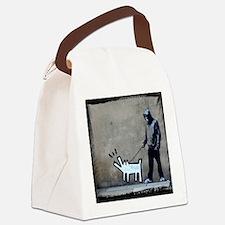 dog bark Canvas Lunch Bag