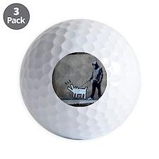 dog bark Golf Ball