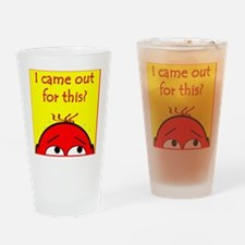 20came out 10x10 Drinking Glass