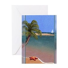 Sea-star Tropics (Journal, 200 DPI) Greeting Card