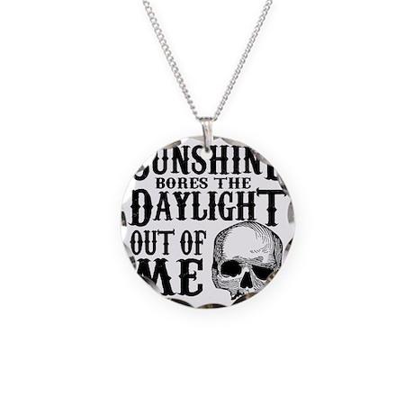 sunshinedaylight Necklace Circle Charm