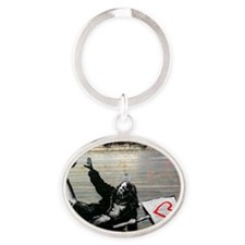 loveprotest Oval Keychain