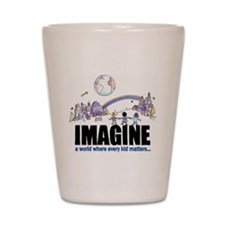 Imagine reframed Shot Glass