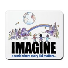 Imagine reframed Mousepad