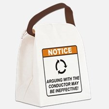 Conductor_Notice_Argue_RK2011 Canvas Lunch Bag
