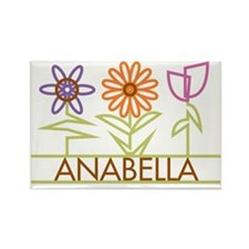 ANABELLA-cute-flowers Rectangle Magnet