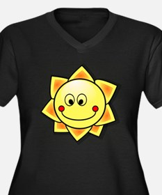 Smiling Sun Plus Size T-Shirt
