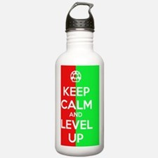 Keep Calm And Level Up Water Bottle