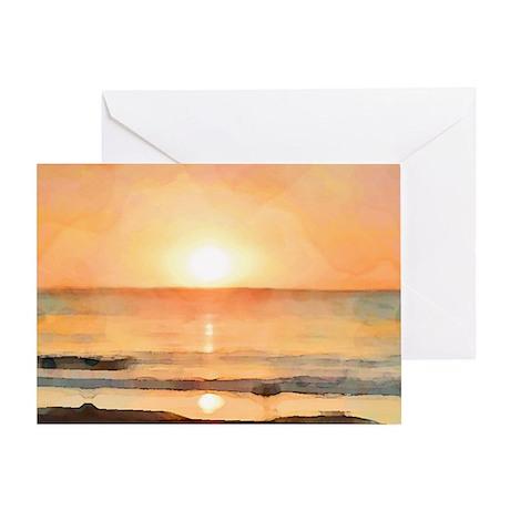 OceanShoulderBag Greeting Card