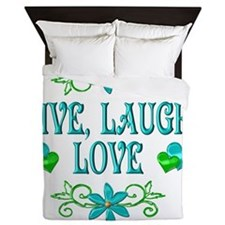LIVELAUGH Queen Duvet