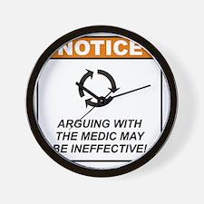 Medic_Notice_Argue_RK2011 Wall Clock