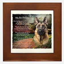 godmadedogs Framed Tile