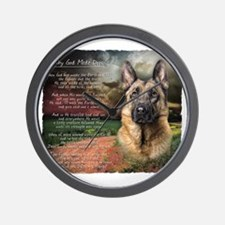 godmadedogs Wall Clock