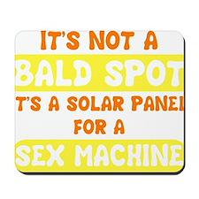 bald spot sex machine darks Mousepad