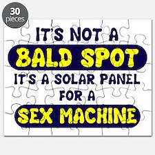 bald spot sex machine lights Puzzle