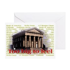 Too_Big Greeting Card