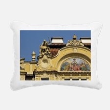 Old Town Square (Starome Rectangular Canvas Pillow