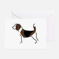 Beagle Greeting Cards (Pk of 10)