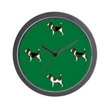 Group o' Beagles Wall Clock