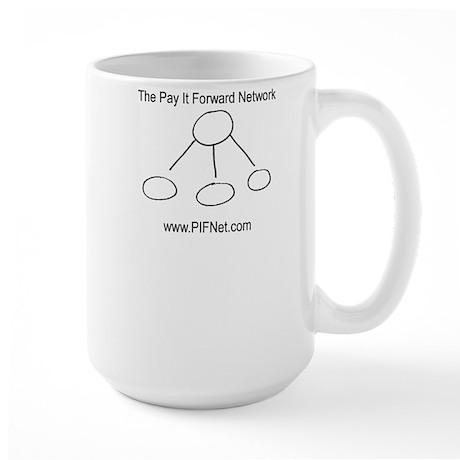 The Pay It Forward Network Large Mug