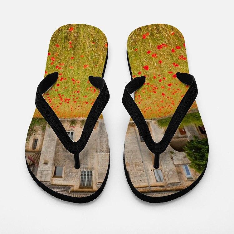 St. Remy-de-Provence. Outside of the St Flip Flops